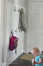 Row Of Hooks Coat Rack Build a Board Batten DIY Hook Wall The DIY Mommy 63