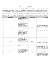 New Employee Training Program Template 5 Employee Training Plan Template This Is Program Excel
