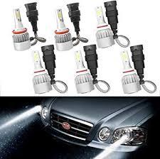 9005 + H11 + 9006 LED Headlight Bulb Combo Kit Hi ... - Amazon.com