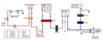 high wattage headlight problems bareass choppers motorcycle tech what does a headlight relay do at Headlight Circuit Diagram