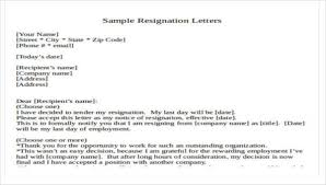 Resigned Format 30 Resignation Letter Formats Templates Pdf Doc