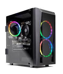 SkyTech Blaze II Gaming Computer <b>PC Desktop</b> ? Ryzen 5 2600 6 ...