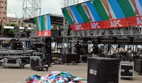 Image result for All progressive congress at eagle square in Abuja