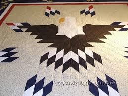 Patriotic Eagle Quilt — Candy Apple Quilts & I was thrilled when Barbara brought this quilt in to be finished! I love  anything patriotic, and this was a true original! It's based on a Lone Star  quilt, ... Adamdwight.com