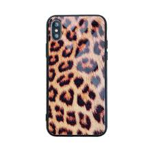 Designer Tempered Glass For Iphone 6 Luxury Designer Tempered Glass Leopard Pattern Case Cover For Iphone X Xs Max Xr 8 7 6 6s Plus Iphone7 Phone Cases Good Quality