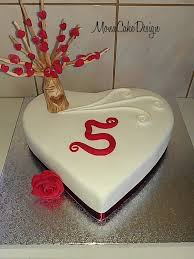 5th Anniversary Cake Monacakedesign Cake Gifts For Hubby és
