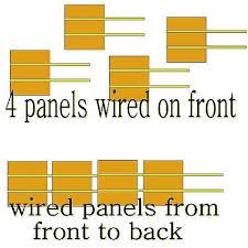 wiring solar panels in series ewiring solar panels wiring diagram nilza net