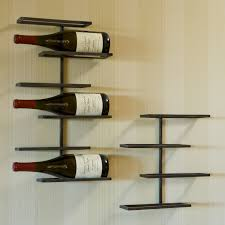 tribeca wall mounted wine rack  hayneedle