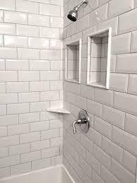 tile backsplash bathroom shower. Interesting Backsplash 4X8 Soft White Wide Beveled Subway Ceramic Tile Backsplashes Walls Kitchen  Shower 25 Pack For Backsplash Bathroom I