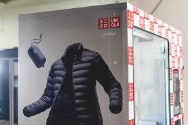 Uniqlo Vending Machine Enchanting UNIQLO ROLLS OUT LIFEWEAR VENDING MACHINES