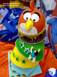 Angry Birds Cake Birthday Boy Favorite Things Cake 508x677