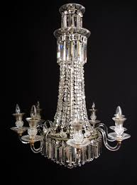 an important english regency chandelier picture 1