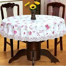 round side table cloth top red circular tablecloth concerning on kitchen cover covers
