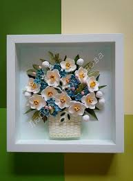 Paper Quilling Flower Frames Pin By Kajal On Quilling Pinterest Quilling Quilling Flowers