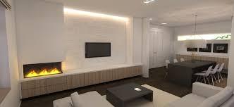 Kamerontwerp Modern Interieur Woonkamer Indrukwekkend Warme