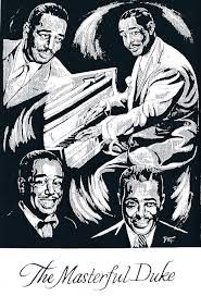 count basie writer site duke ellington from the birdland story mural by