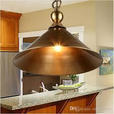 svitz antique brass pendant lamps retro bar light rustic vintage copper pendant lights diningroom coffee bedroom hanging lamps copper pendant light