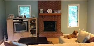 red brick fireplace ideas living room decorating ideas with red brick fireplace unique living room colors