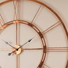 Small Picture Copper wall clocks uk