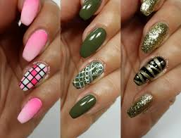 3 Easy Accent Nail Ideas! Freehand #8 (Khrystynas Nail Art) - YouTube