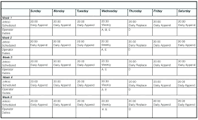 Work Schedule Spreadsheet Template 2 Week Employee Work E Template Also Unique Training Record