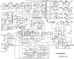 Pc psu wiring diagram with schematic pictures for b2 work co