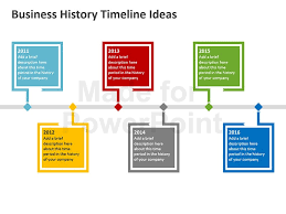 Timeline Ppt Slide Business History Timeline Templates