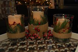 Glass Jar Table Decorations Christmas Coffee Table Decor With Candles On Glass Jar Added Pine 30
