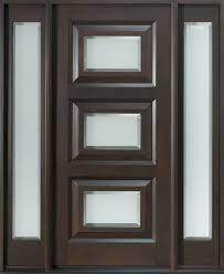 Lowes Mid Century Modern Doors Front Door With Sidelights Therma Tru