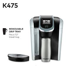 Amazon.com: Keurig K475 Single Serve Programmable K- Cup Pod Coffee Maker  with 12 oz brew size and temperature control, Black: Kitchen & Dining