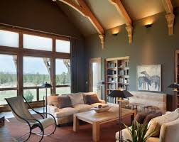paint colors that go with oak trimLove this paint color  Benjamin Moore Shaker Gray with Benjamin
