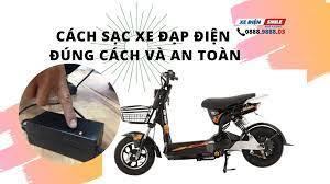 Cách sạc xe đạp điện đúng cách và an toàn hiện nay