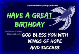 Birthday Blessing Quotes Stunning God Bless You Happy Birthday Christian Image With Quotes