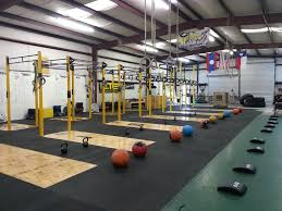 CrossFit Forney's rig.
