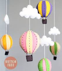 adorable diy baby hot air balloon mobile pattern by on face