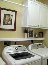popular items laundry room decor. Laundry Room Ideas - Cabinet, Shelf, And Hanging Rod. I Like This B/c It Still Allows The Dryer Vent Area \ Popular Items Decor