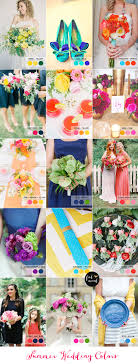 Coral Color Combinations Fabulous Summer Wedding Color Combos