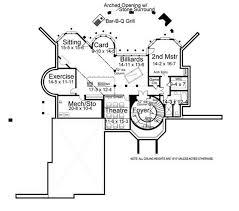 european home with 4 bedrooms, 3376 sq ft house plan 106 1116 Cape Cod Greek Revival House Plans basement floor plan basement Modern Cape Cod House Plans