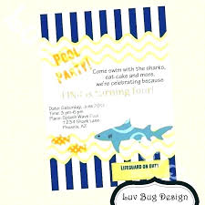 Free Pool Party Invitations Printable Free Pool Party Invitation Guluca