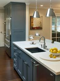 Kitchen Cabinet Led Lighting Cool With Blue Lights Decor On