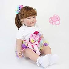 Amazon.com: <b>NPK</b> collection <b>60cm Silicone Reborn Baby</b> Doll Toys ...
