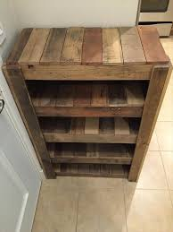 Entryway Boot Storage Diy Entryway Shoe Rack Pallets Pallets