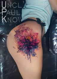 fancy hand mirror tattoo. Modren Tattoo Lotus Flower On Girls Hip Best Tattoo Design Ideas With Chandelier  For Fancy Hand Mirror Tattoo