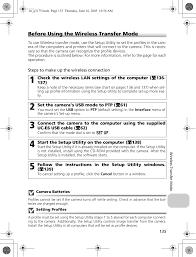 Manual Camera Settings Chart Cxp1 Digital Camera With 802 11b G Transmitter User Manual 2