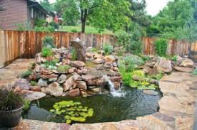 Garden Ponds Designs Custom Ponds R' Us Water Feature Construction Maintenance Charlotte NC