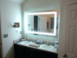 vanities magnifying vanity mirror magnification makeup conair chrome countertop with light