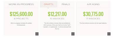 Work Invoices Magnificent Clear Your Work In Progress Tile