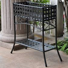 patio plant pot stands outdoor tiered corner stand