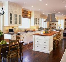 cream island connected wall white counter white kitcehn island with wood top be equipped with rectangle shape wh