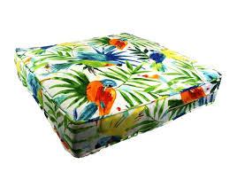 tropical cushions covers bird caribbean